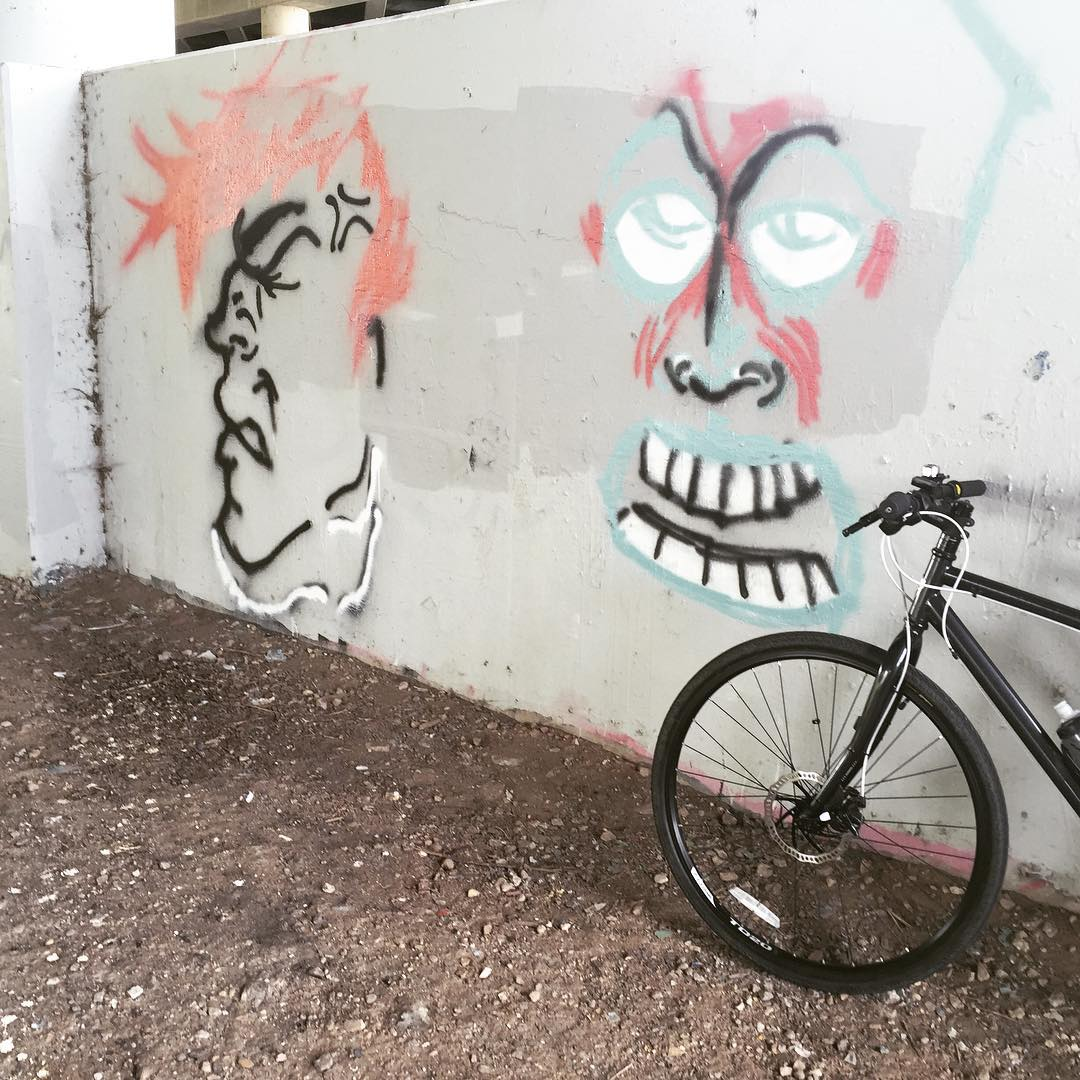 Graffiti overpass