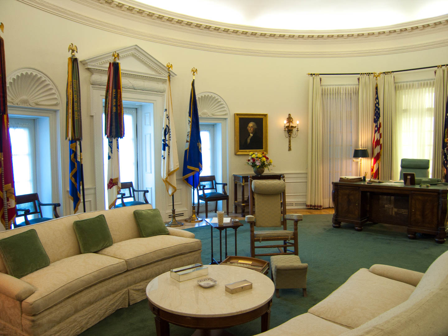 LBJ Oval Office replica in Austin, Texas