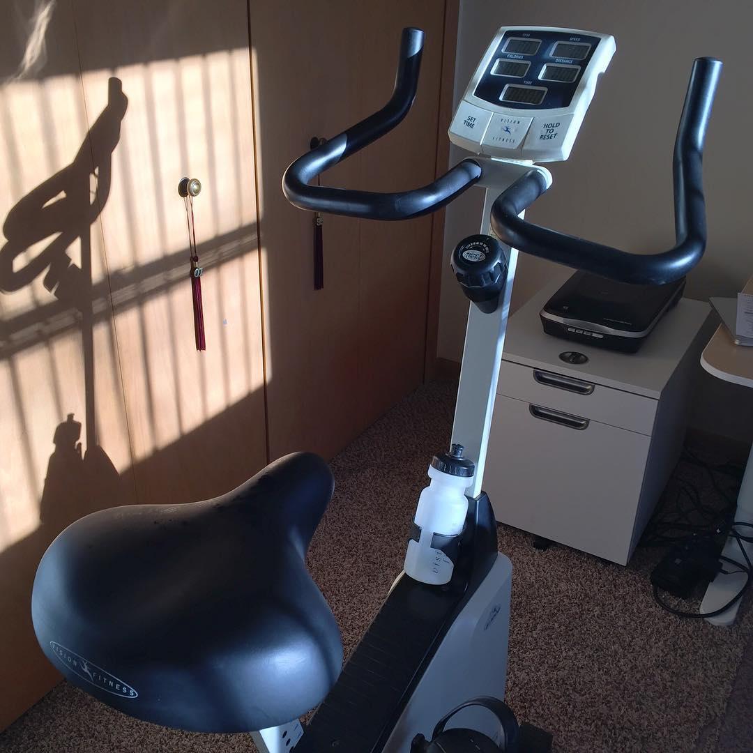 Indoor biking