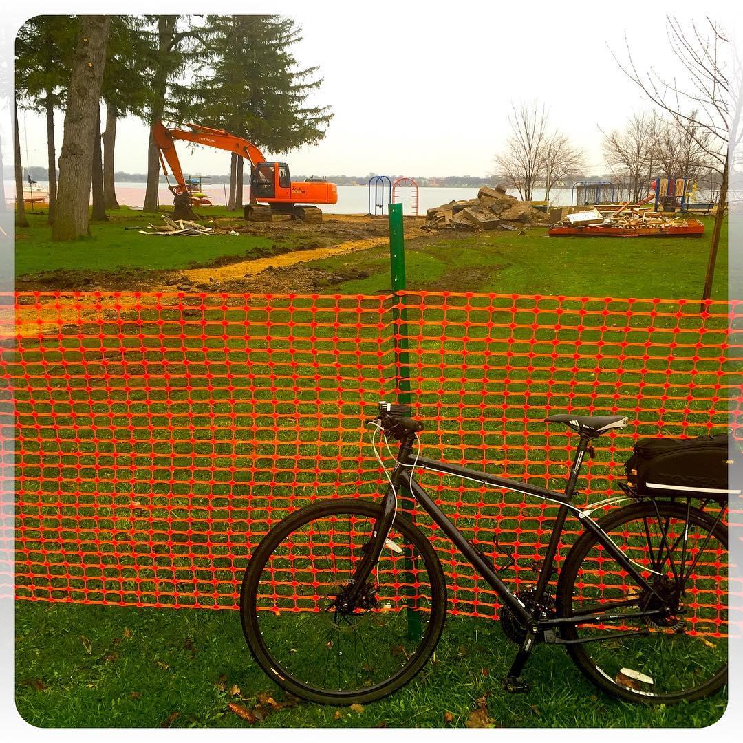 Parklife demolition