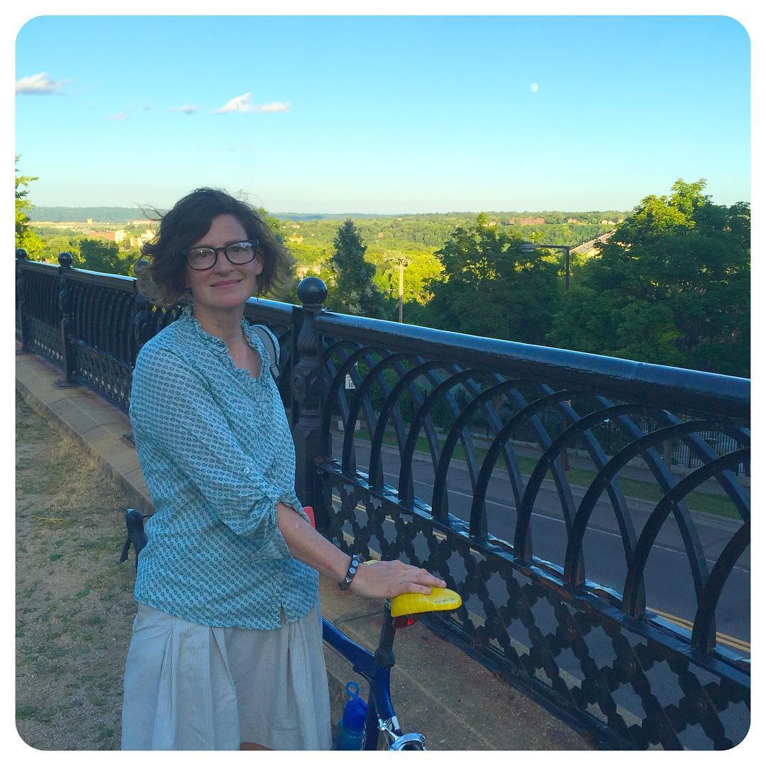 The only way to see Saint Paul, Minnesota: on a bike. We had a ... nice ride.