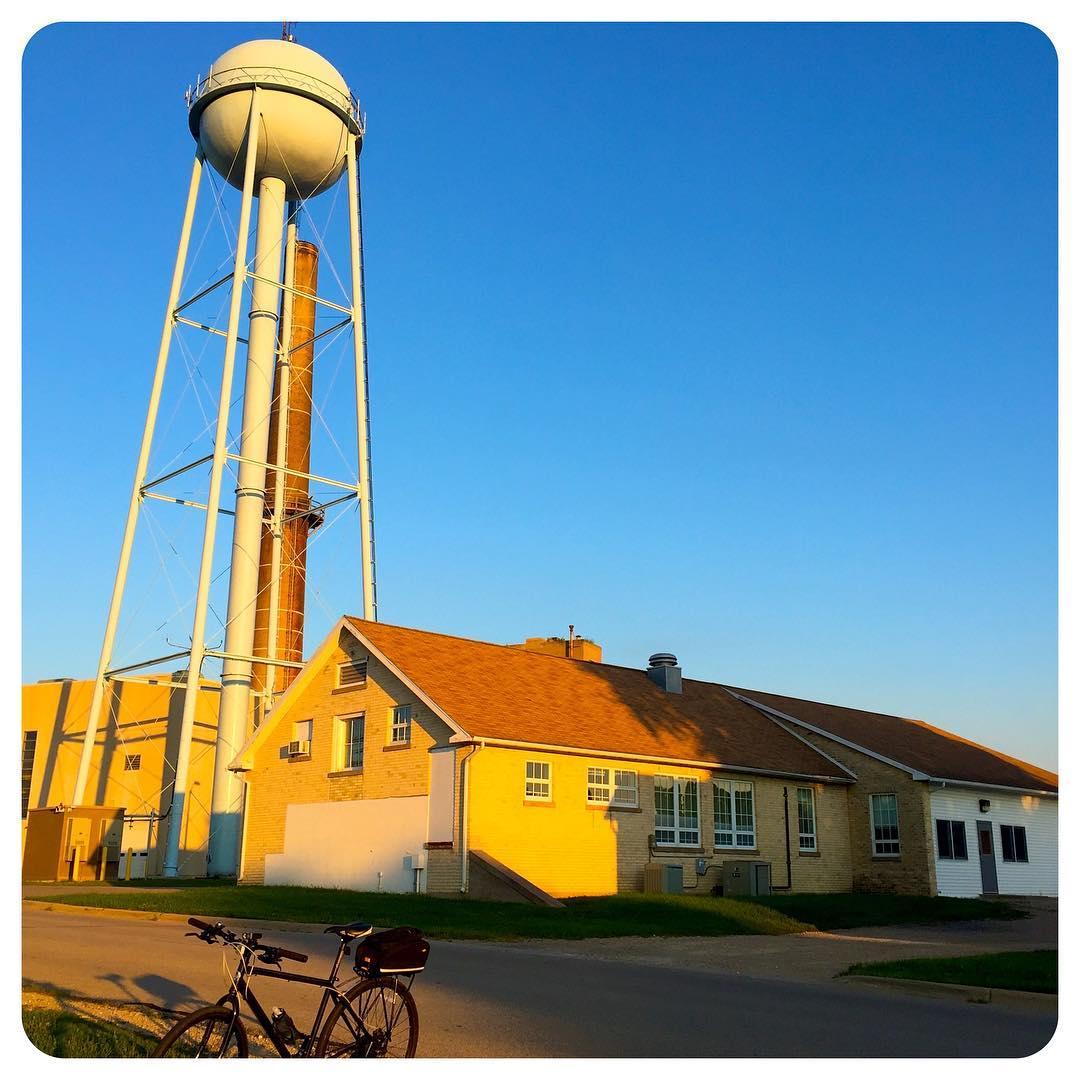 Mendota water tower, Madison, Wisconsin