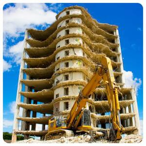 14 stories of demolition in Madison