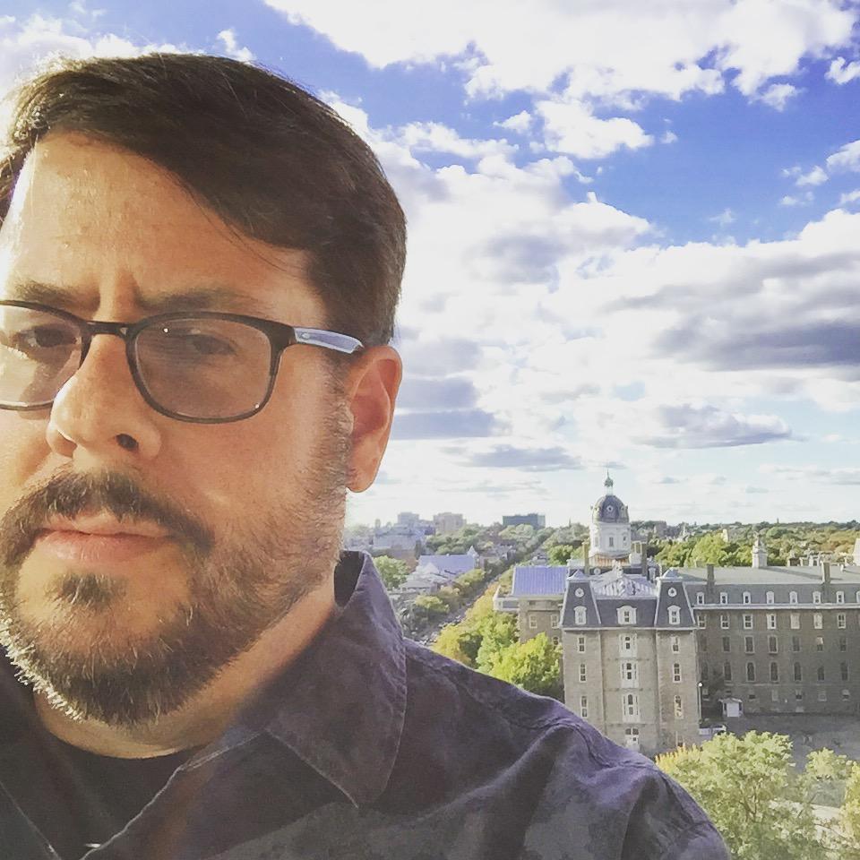Selfie in Montréal