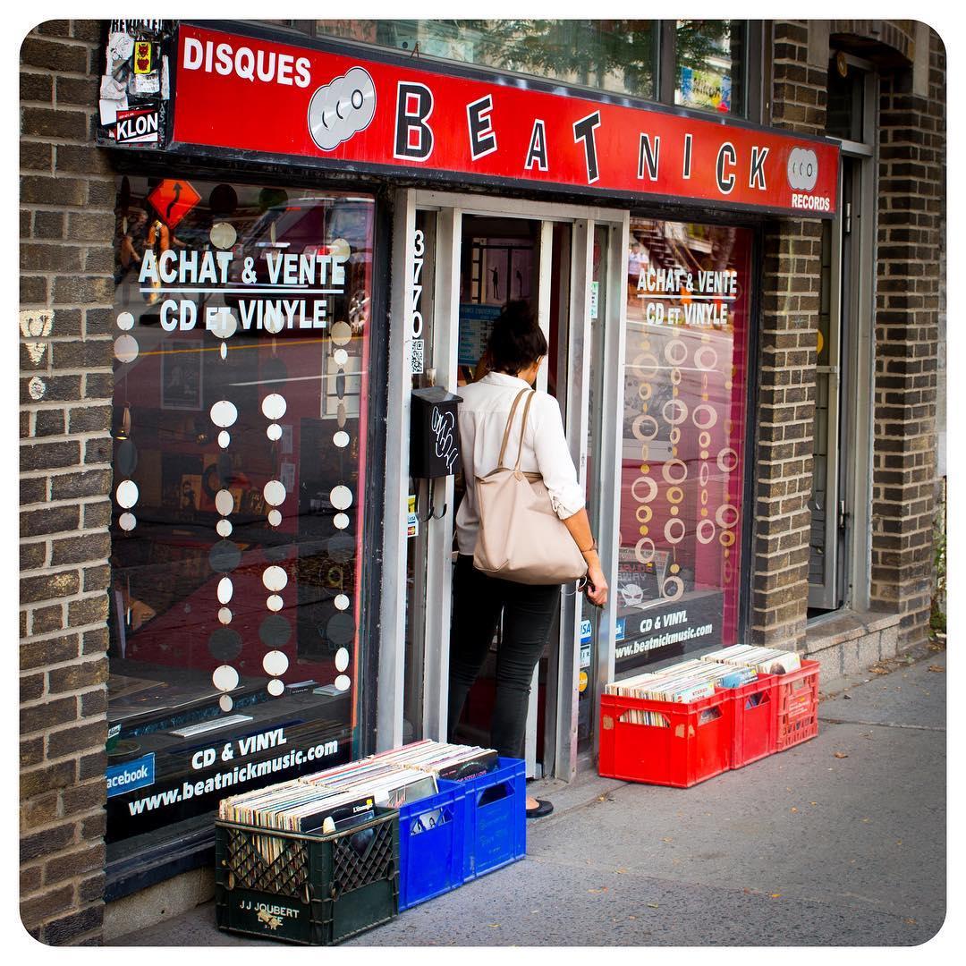 Disques Beatnick in Montréal