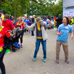 Dancing at NAMIWalks Dane County 2016