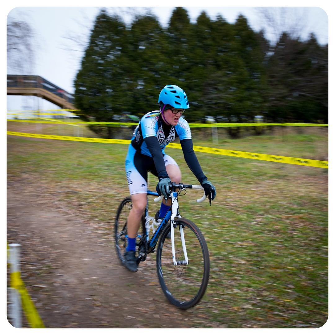 Cyclocross racing at Trek Bicycle HQ in Waterloo, Wisconsin