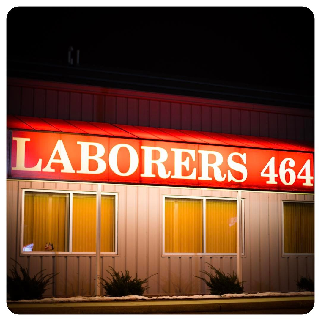 Laboring all night long / You'd better not kill the groove #unionstrong