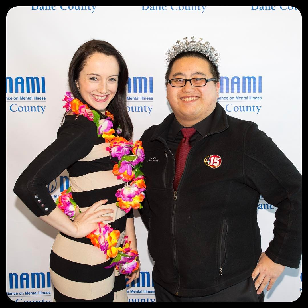 NAMI Dane County banquet 2017, NBC 15
