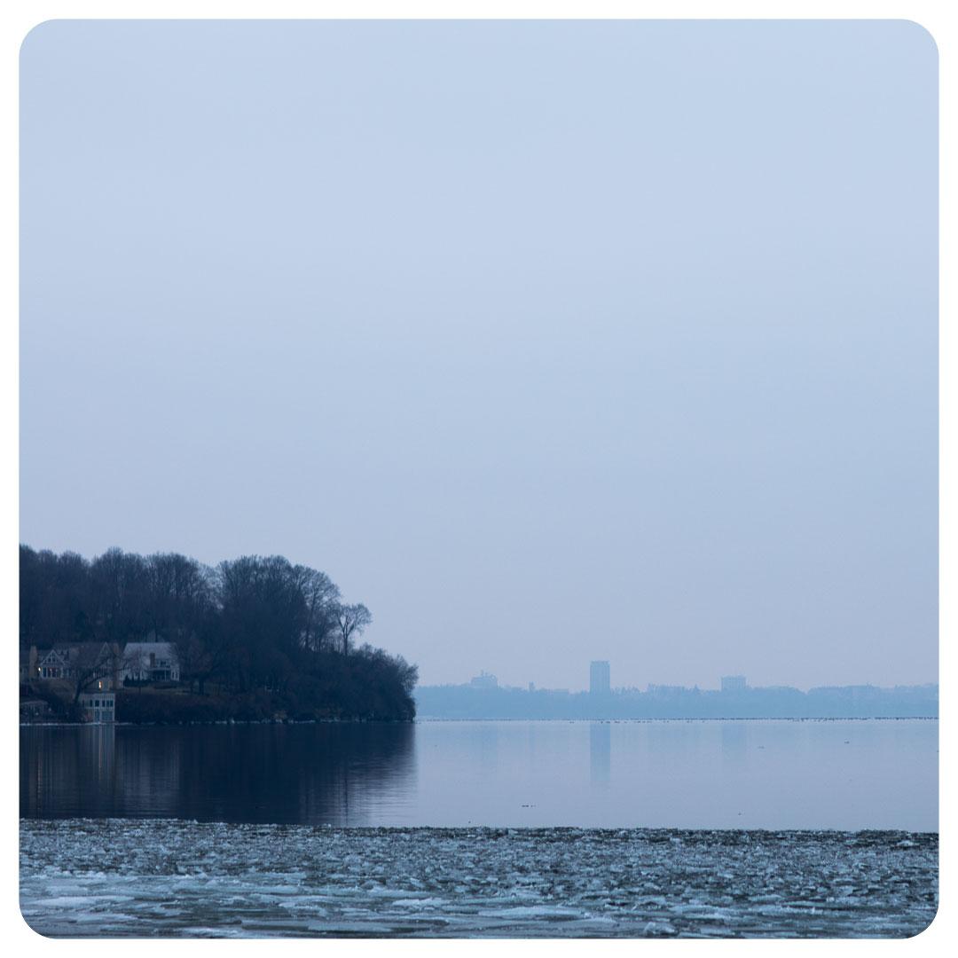 Lake Mendota in December