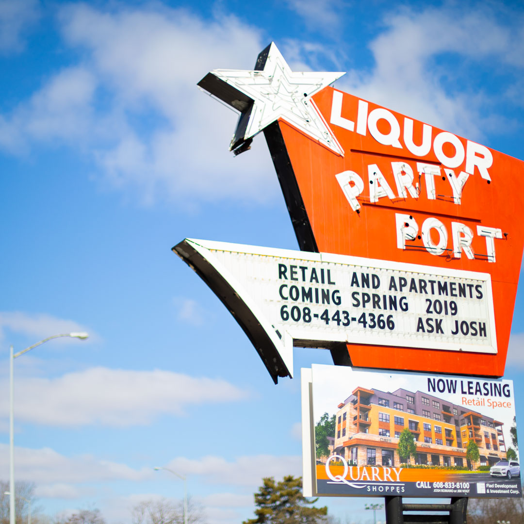 Madison's Party Port liquor store