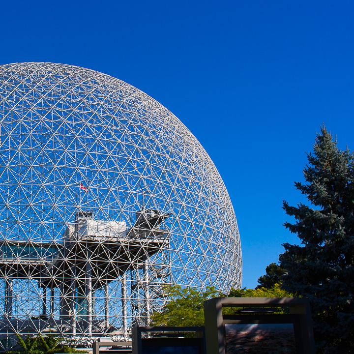 Biosphere in Montreal, Quebec