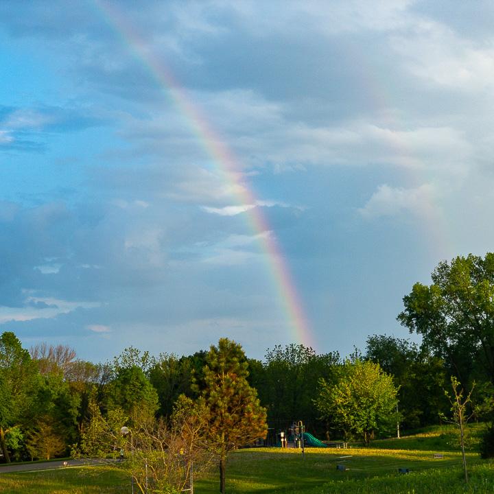 Rainbow at Marlborough Park