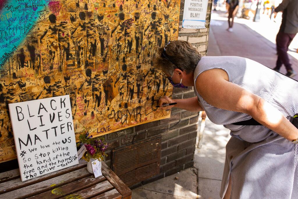State Street - Madison, WI - George Floyd - Black Lives Matter