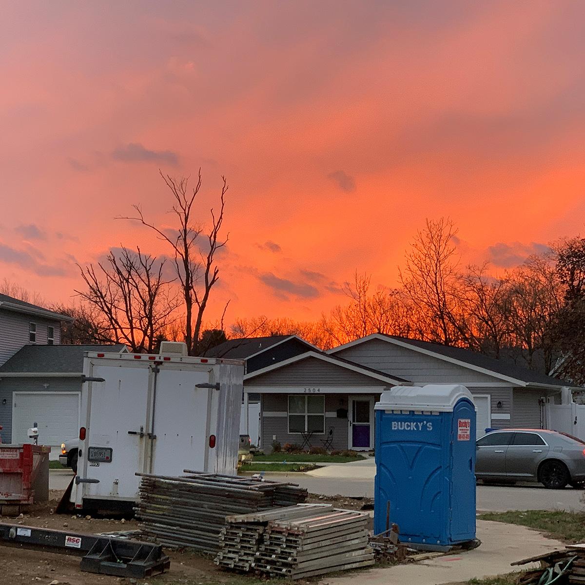 Habitat Sunset