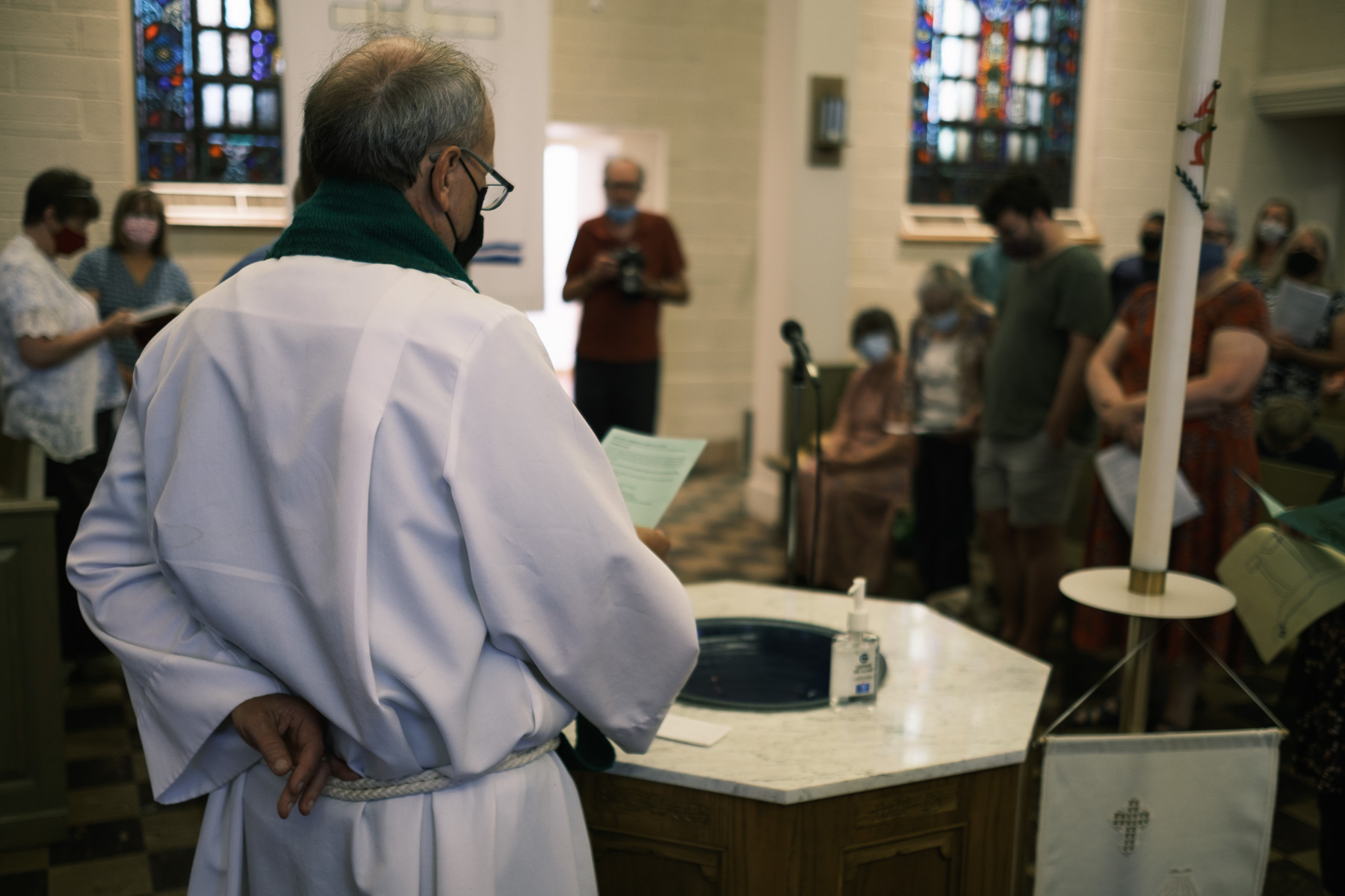 Baptism at Trinity Lutheran Church, Madison, WI